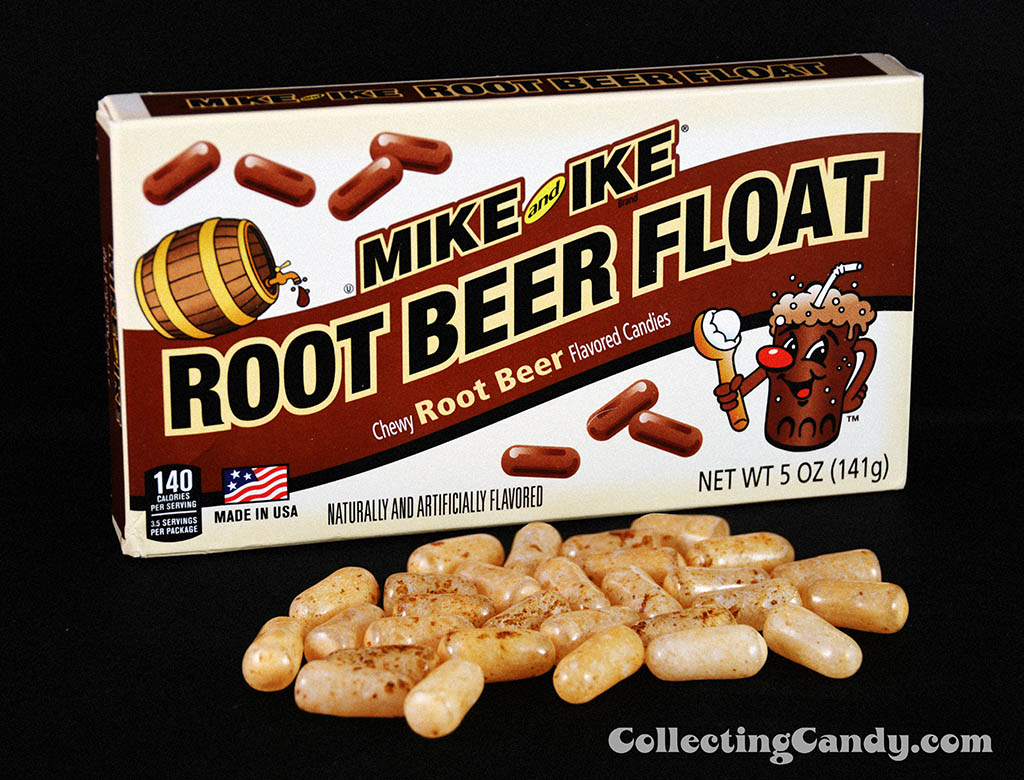 Just Born - Mike and Ike Root Beer Float photo with candy - January 2015