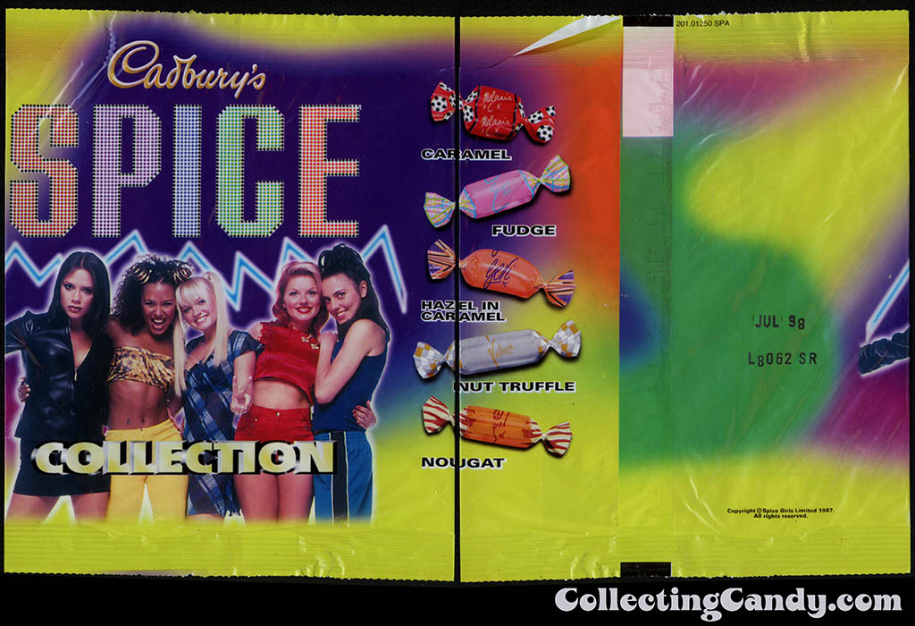 Australia-New Zealand - Cadbury's - Spice Girls Collection package - 1997