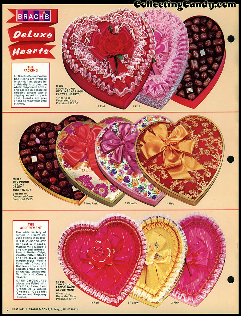 Brach's 1972 Share a little love - Valentine Candies catalog Page 02
