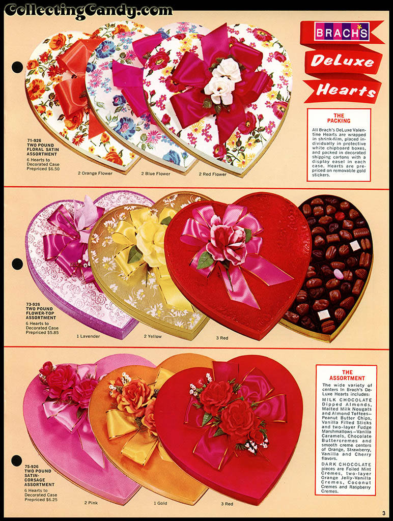 Brach's 1972 Share a little love - Valentine Candies catalog Page 03
