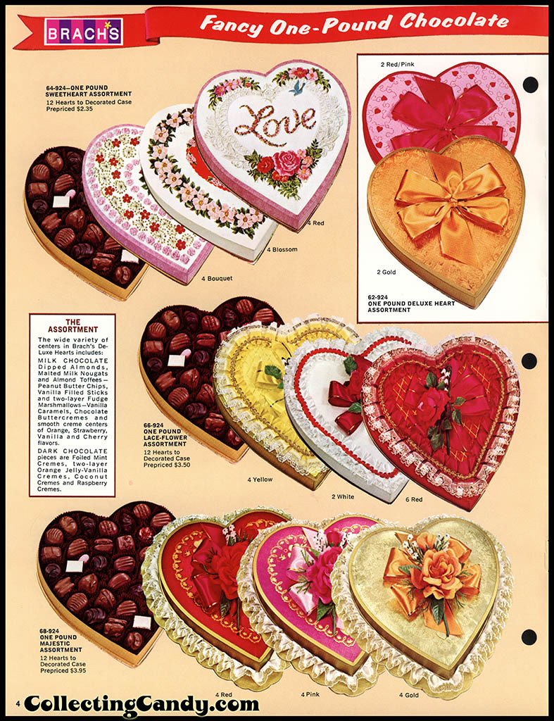 Brach's 1972 Share a little love - Valentine Candies catalog Page 04