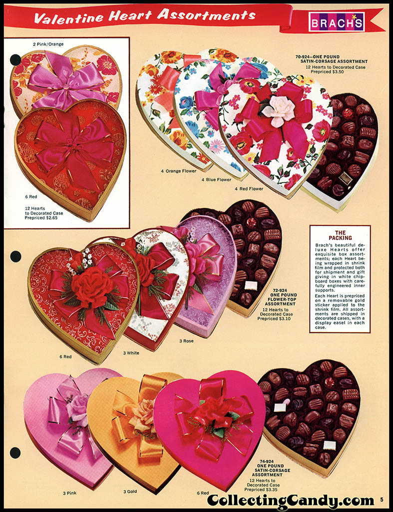 Brach's 1972 Share a little love - Valentine Candies catalog Page 05