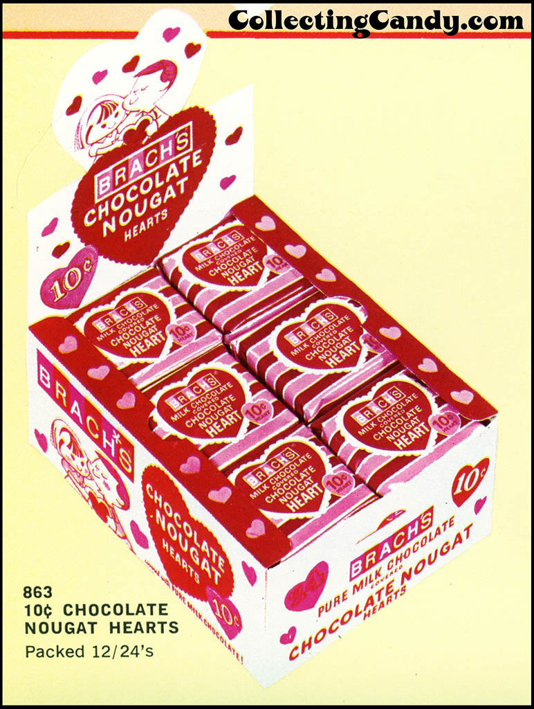 Brach's 1972 Share a little love - Valentine Candies catalog Page 06 - Close-up