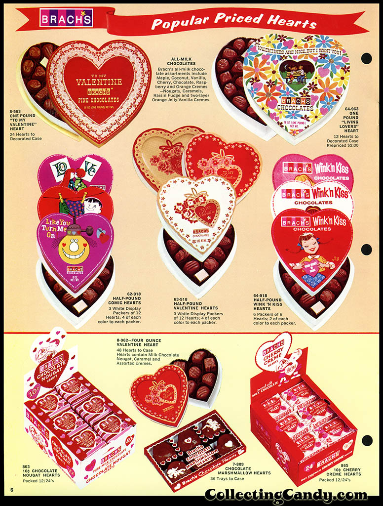 Brach's 1972 Share a little love - Valentine Candies catalog Page 06