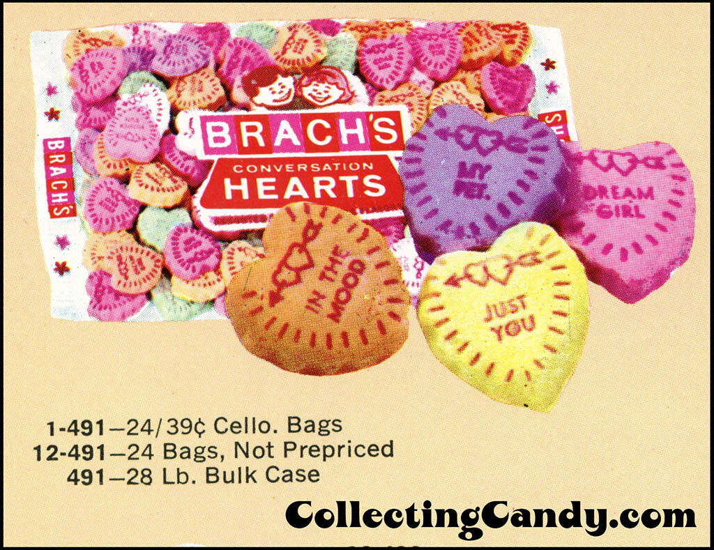 Brach's 1972 Share a little love - Valentine Candies catalog Page 07 - close-up 01