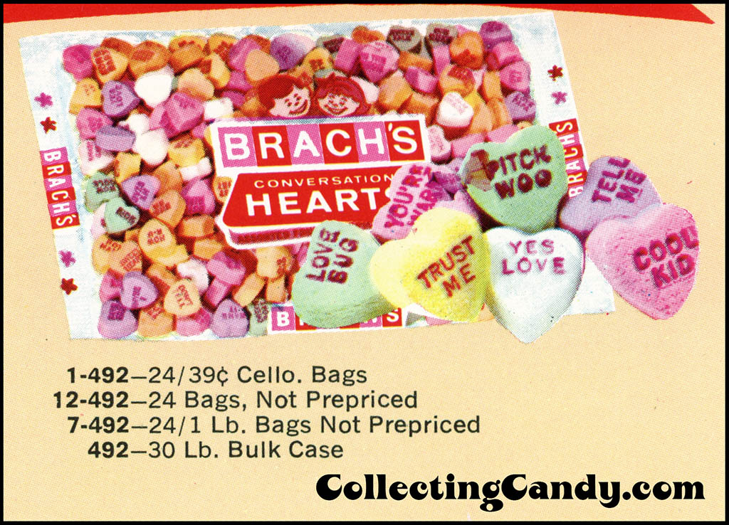 Brach's 1972 Share a little love - Valentine Candies catalog Page 07 - close-up 02