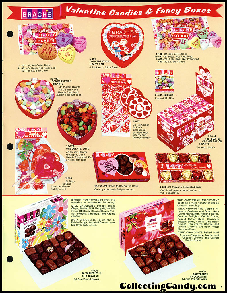 Brach's 1972 Share a little love - Valentine Candies catalog Page 07