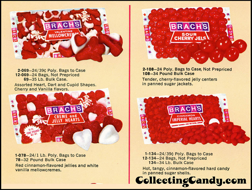 Brach's 1972 Share a little love - Valentine Candies catalog Page 08 - close-up