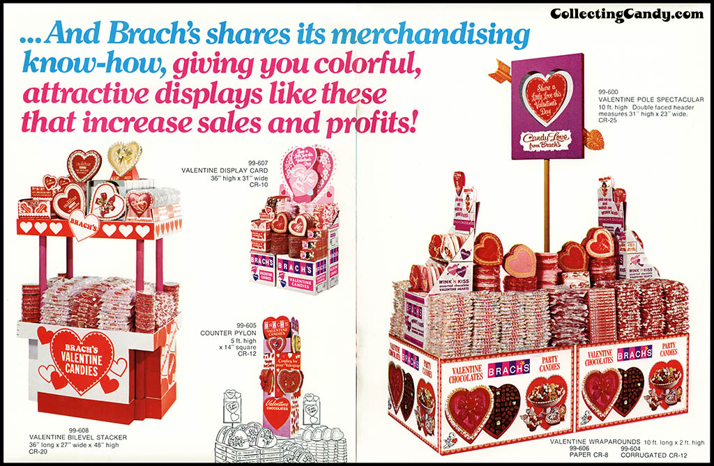 Brach's 1972 Share a little love - ad campaign brochure - Page 06-07
