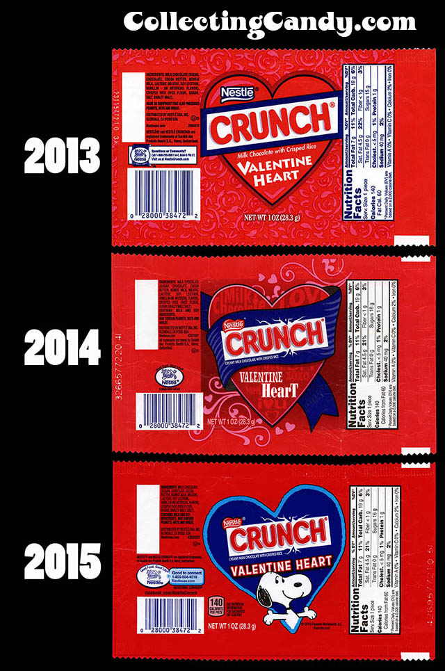Valentines Day 2015 Gets Snoopy With Nestle Crunch