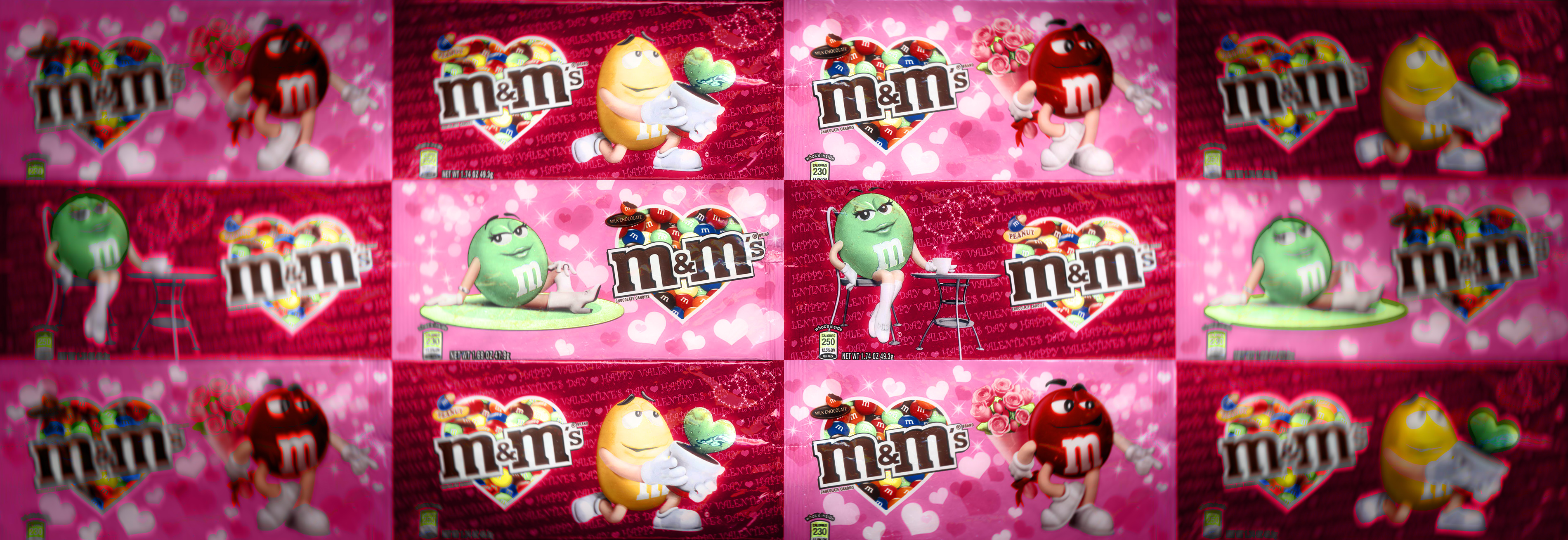 Taiwan Valentine M&M's CLOSING IMAGE