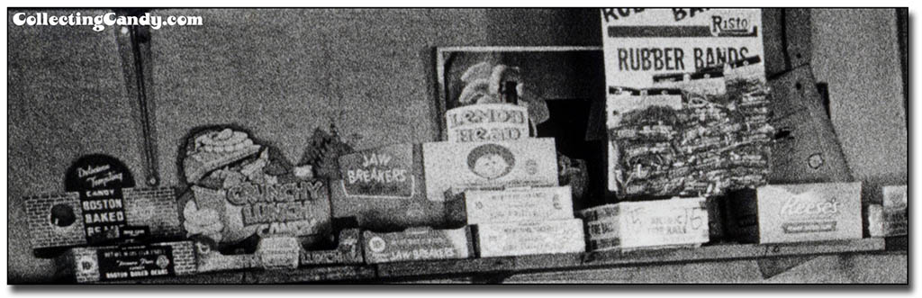 Photo Hunt 1980 - Boston Baked Beans, Topps Crunchy Lunch, Jaw Breakers, Lemonhead, Atomic Fireball, Reeses