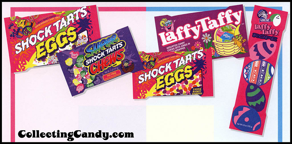 Concorde Brands - Sunmark - Shock Tarts and Laffy Taffy Easter - stationery - 1996 - CLOSE UP