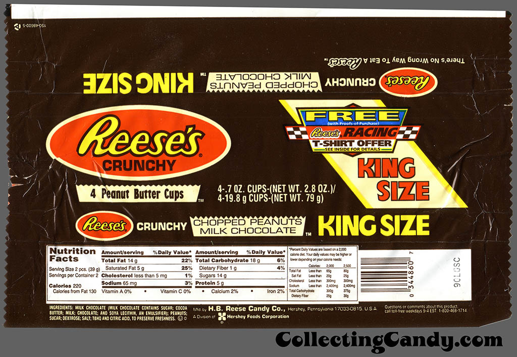 Reese's Crunchy wrapper - 1990's
