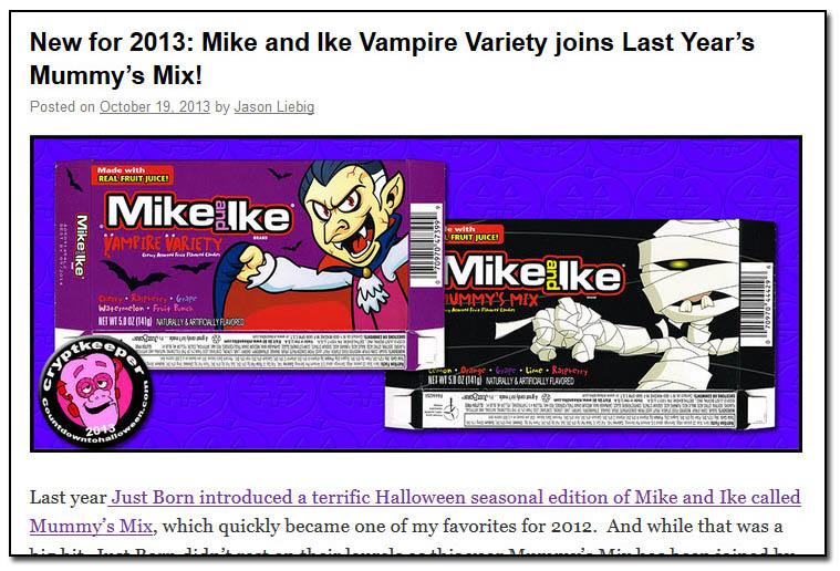 2013 Mummy Mix and Vampire Variety post image