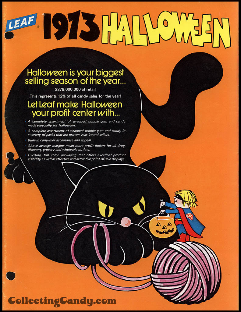 Leaf - 1973 Halloween Sales Brochure - Page 01