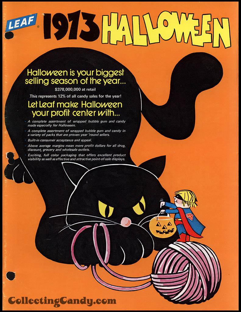 Leaf - 1973 Halloween Sales Brochure - Page 01