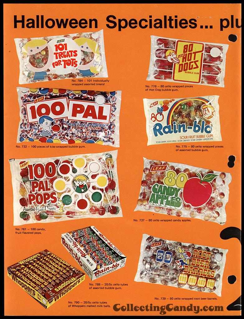 Leaf - 1973 Halloween Sales Brochure - Page 02