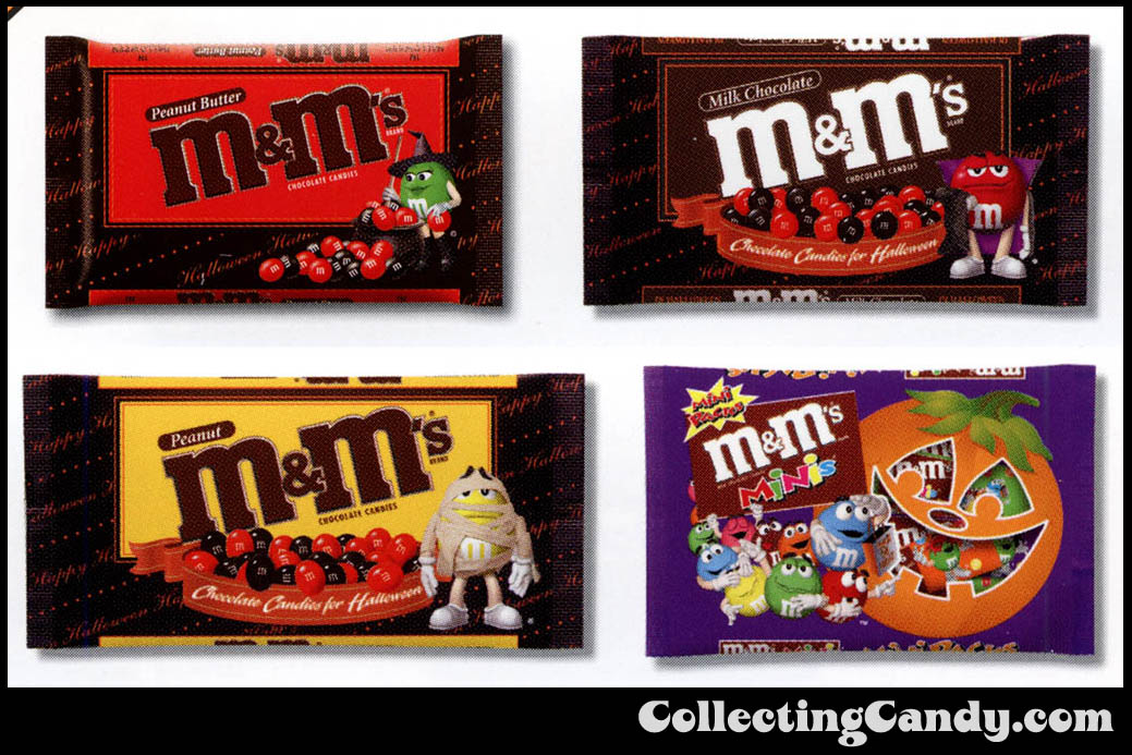 M&M_Mars_2003_Halloween Catalog - Close-ups 1 - M&M's Packs