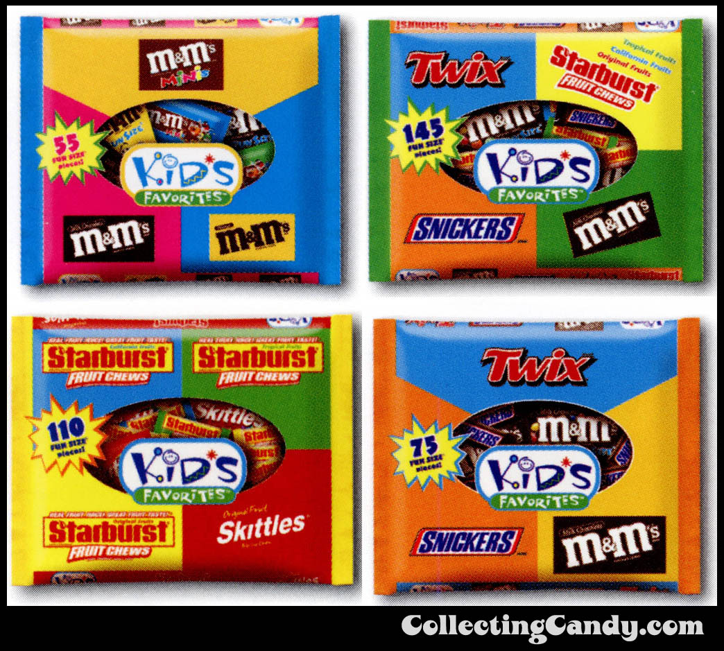 M&M_Mars_2003_Halloween Catalog - Close-ups - Kids Favorites packaging