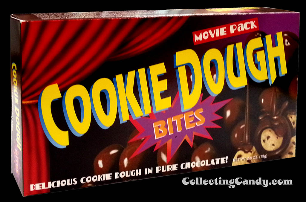 Original Cookie Dough Bites candy box photo from 1997 - Courtesy Taste of Nature