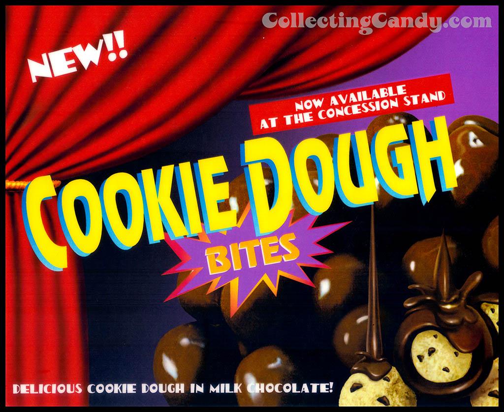 Original Cookie Dough Bites candy sign 1997 - Courtesy Taste of Nature