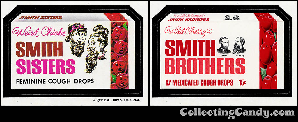Smith Sisters - Smith Brothers Wacky Wednesday comparison