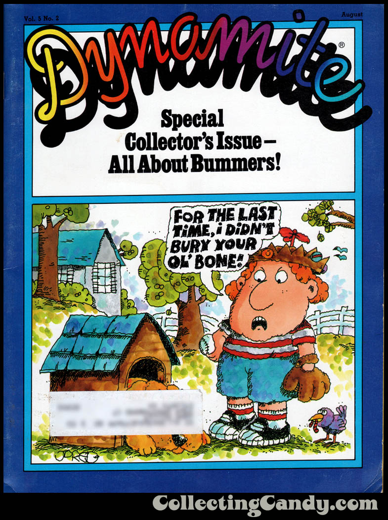 Dynamite Magazine All Bummers issue - by Jared Lee