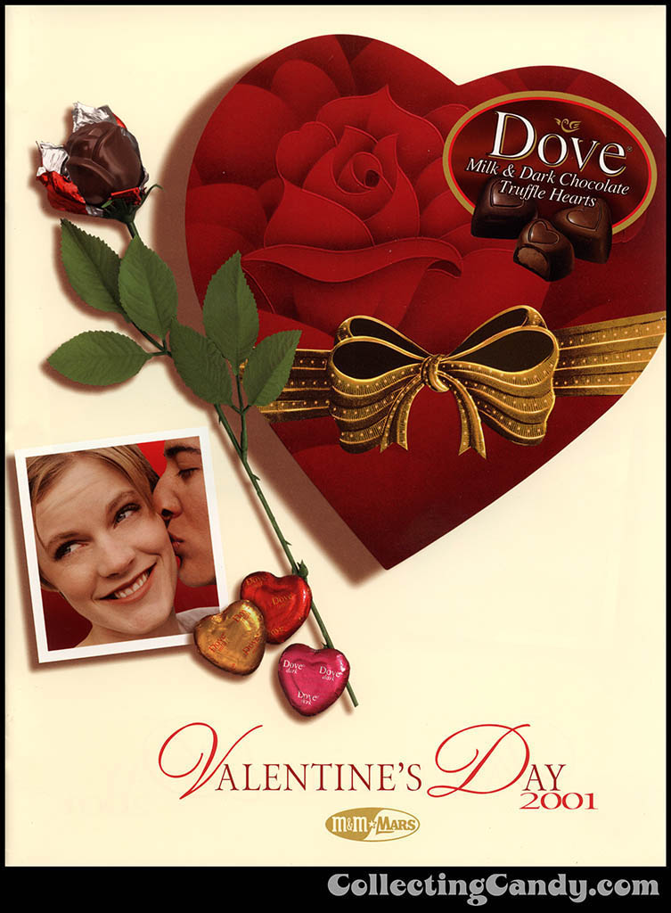 M&M-Mars - Valentine's Day 2001 product catalog Page 0001