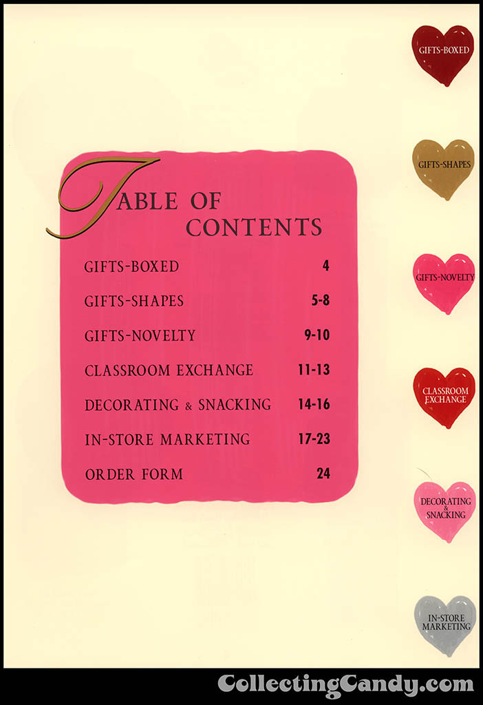 M&M-Mars - Valentine's Day 2001 product catalog Page 0003