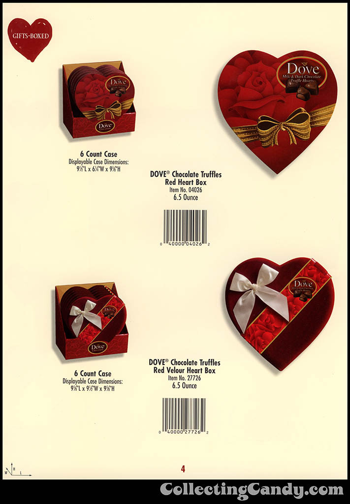 M&M-Mars - Valentine's Day 2001 product catalog Page 0004