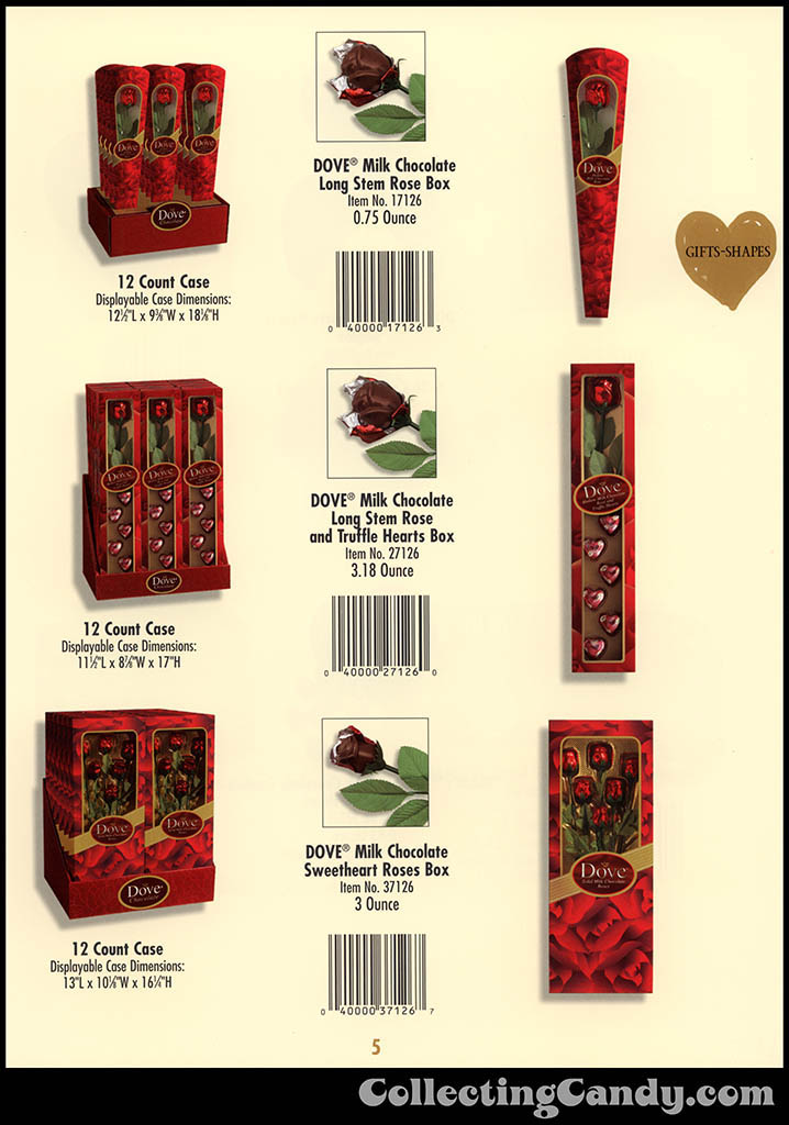 M&M-Mars - Valentine's Day 2001 product catalog Page 0005