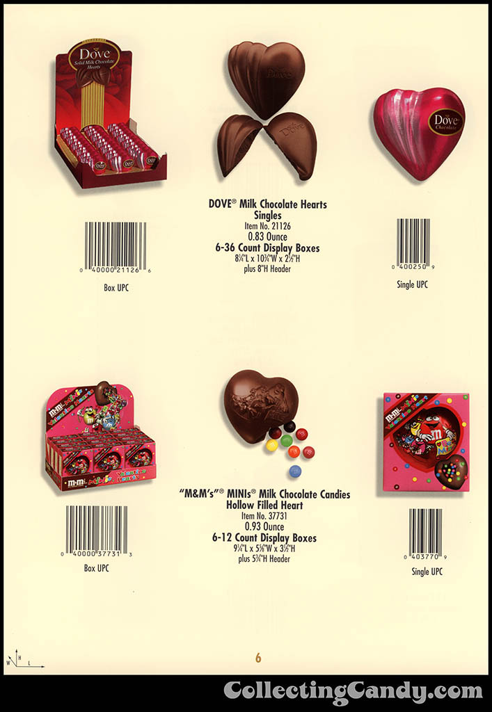 M&M-Mars - Valentine's Day 2001 product catalog Page 0006