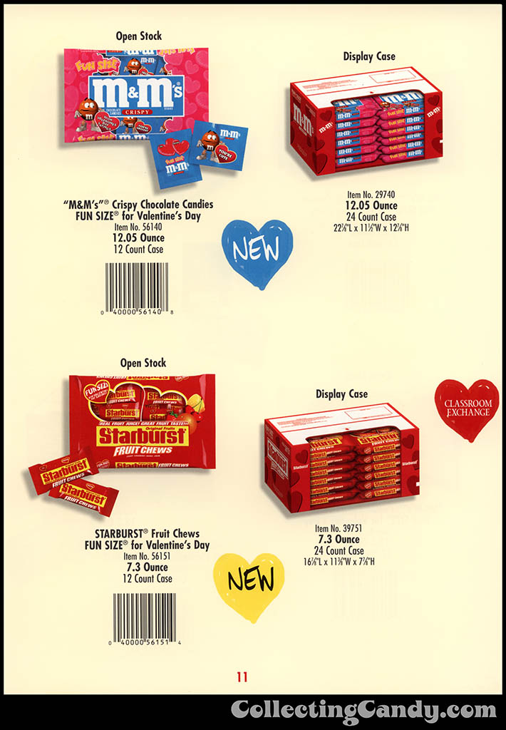 M&M-Mars - Valentine's Day 2001 product catalog Page 0011