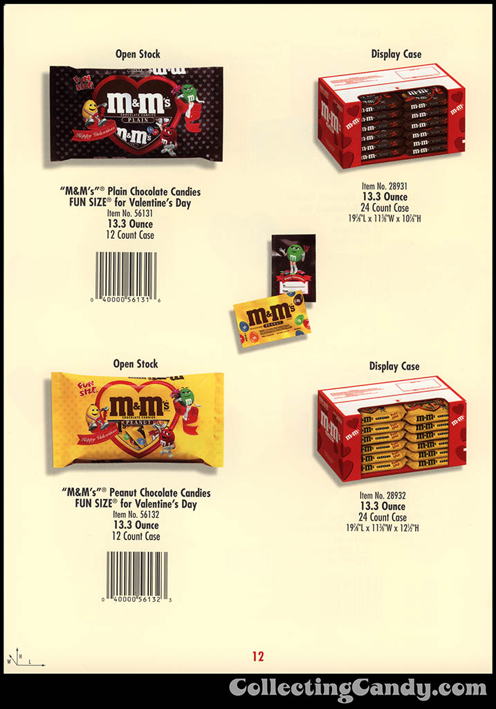 M&M-Mars - Valentine's Day 2001 product catalog Page 0012