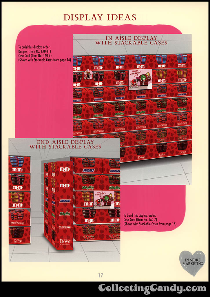 M&M-Mars - Valentine's Day 2001 product catalog Page 0017