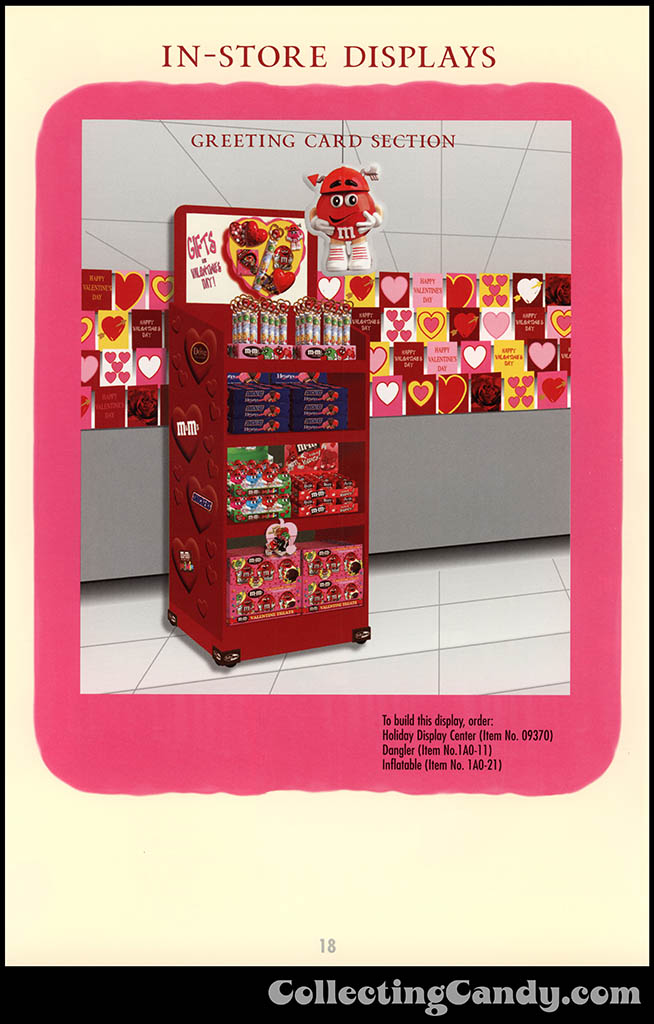 M&M-Mars - Valentine's Day 2001 product catalog Page 0018