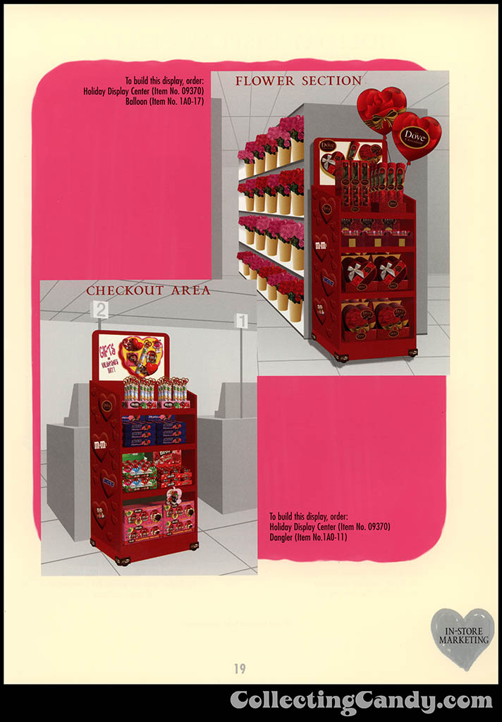 M&M-Mars - Valentine's Day 2001 product catalog Page 0019