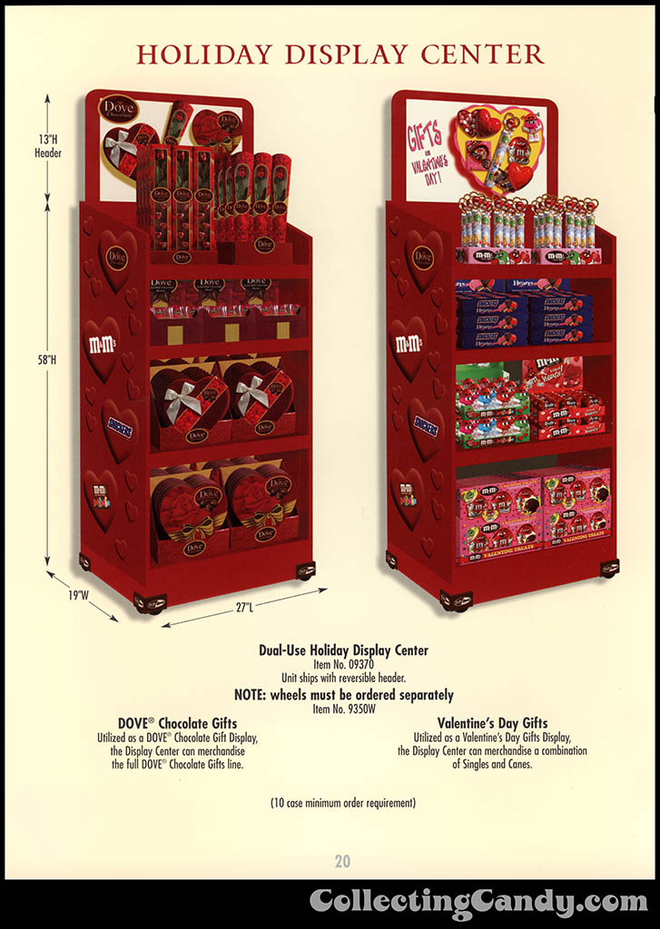 M&M-Mars - Valentine's Day 2001 product catalog Page 0020