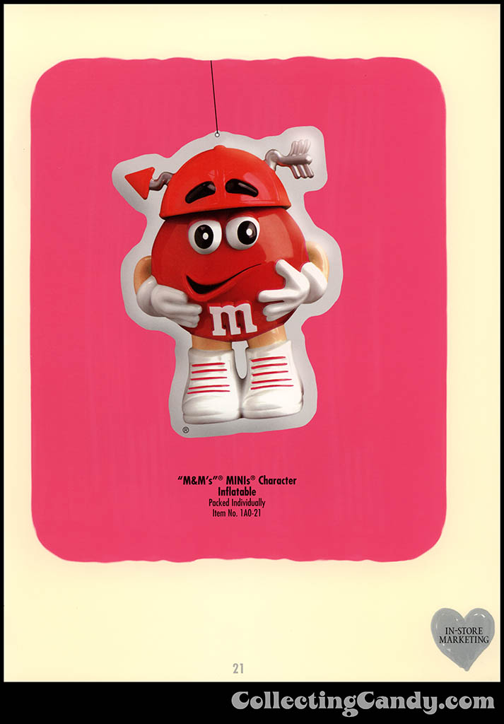 M&M-Mars - Valentine's Day 2001 product catalog Page 0021