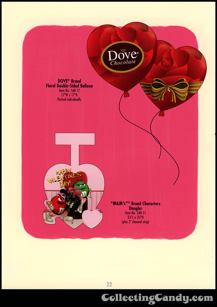 M&M-Mars - Valentine's Day 2001 product catalog Page 0022