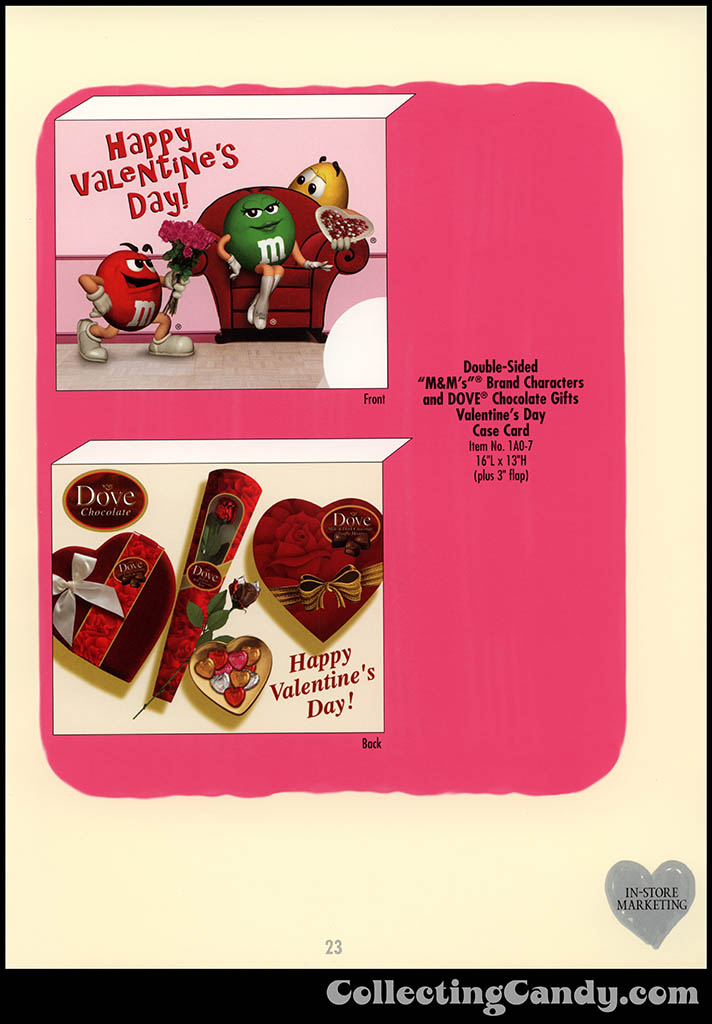 M&M-Mars - Valentine's Day 2001 product catalog Page 0023