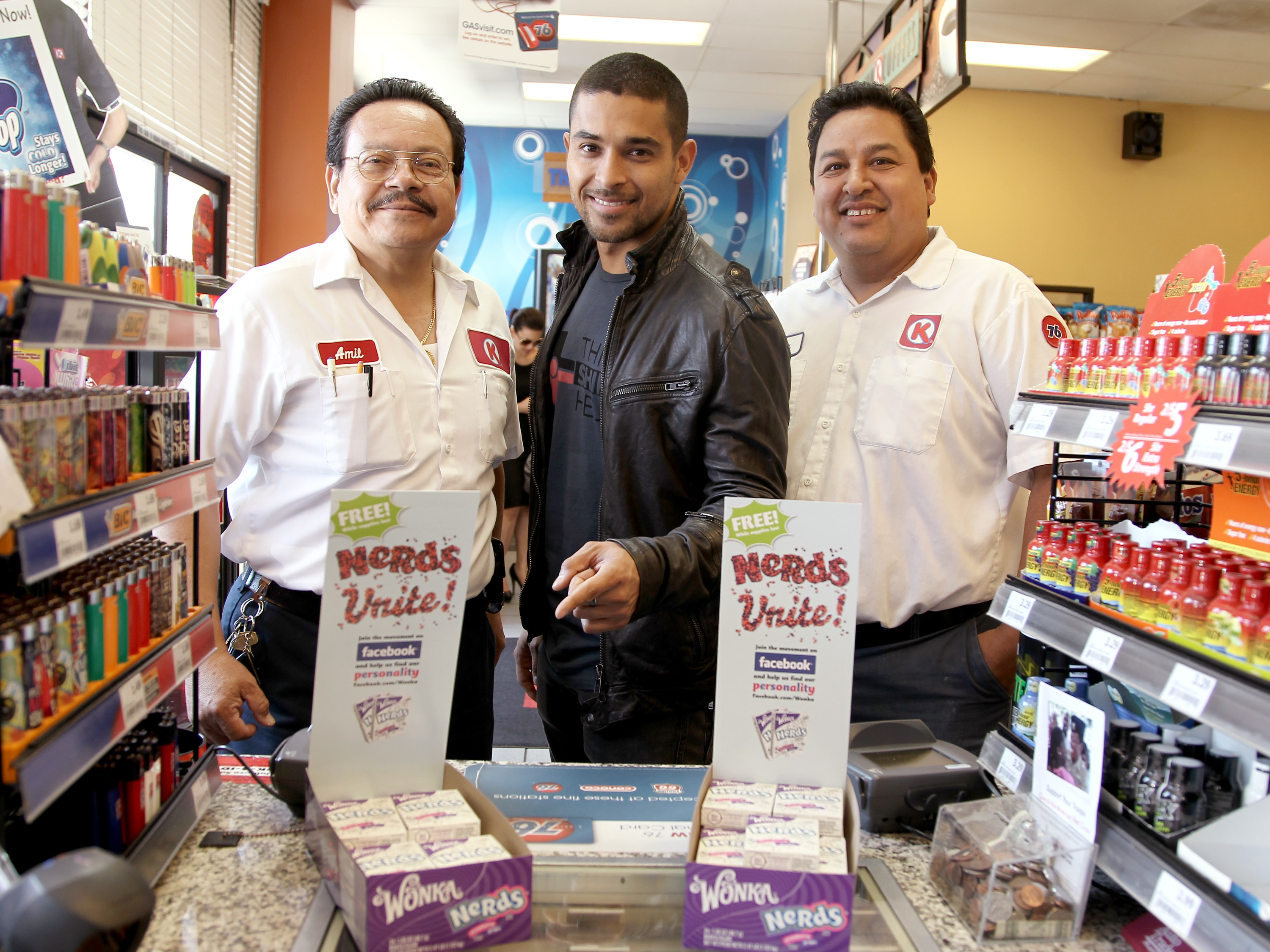 Wilmer Valderrama xxxxx on Tuesday June 5, 2012, in Los Angeles. (Photo by Matt Sayles/Invision for Wonka/AP Images)