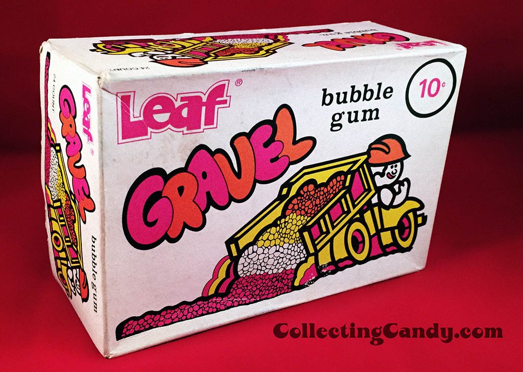 Leaf Gravel Gum - 10-cent full display box - 1975