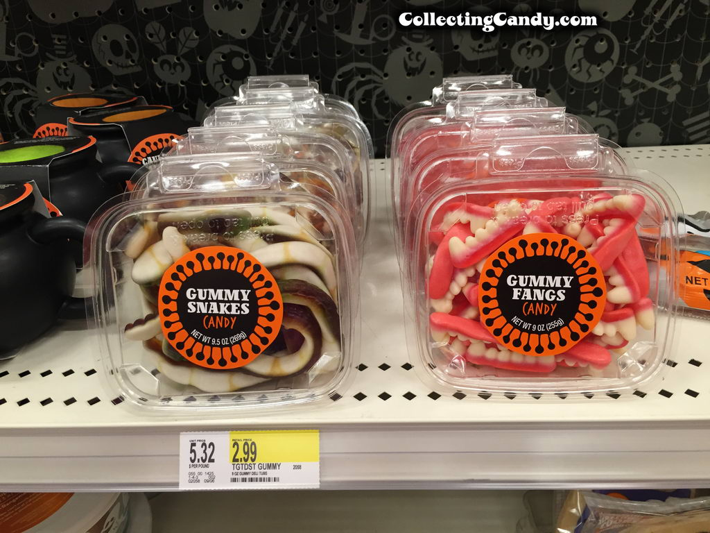 2015 Target Halloween Private Label clamshell gummies