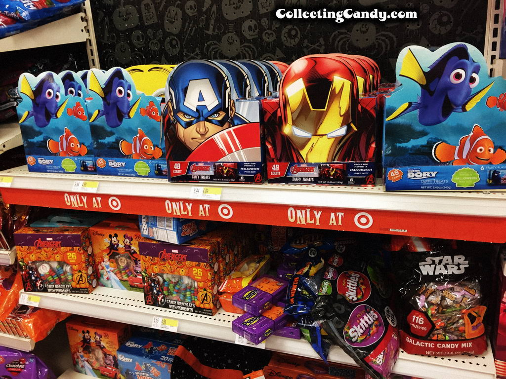 Target's Halloween Private Label Candy for 2016! (and 2015, too ...