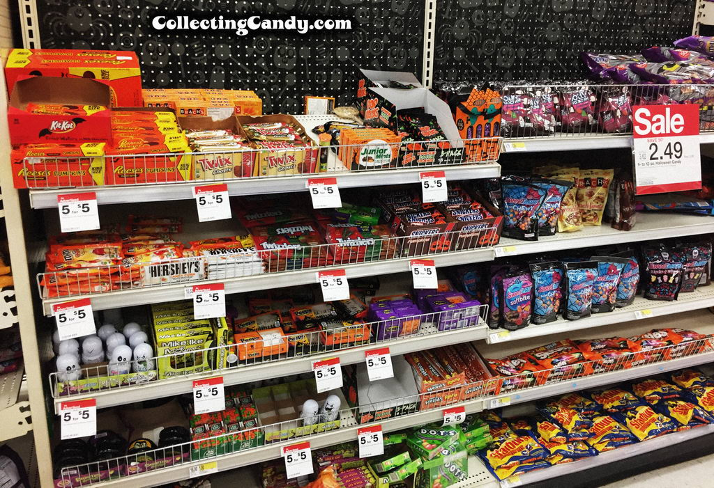 2016 Target Halloween candy assortment.