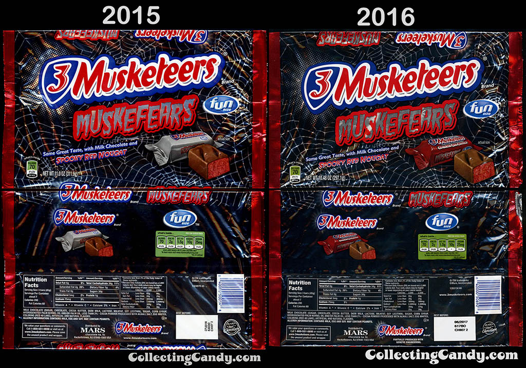 3-Musketeers Muskefears 2015 v 2016 outer pack comparison