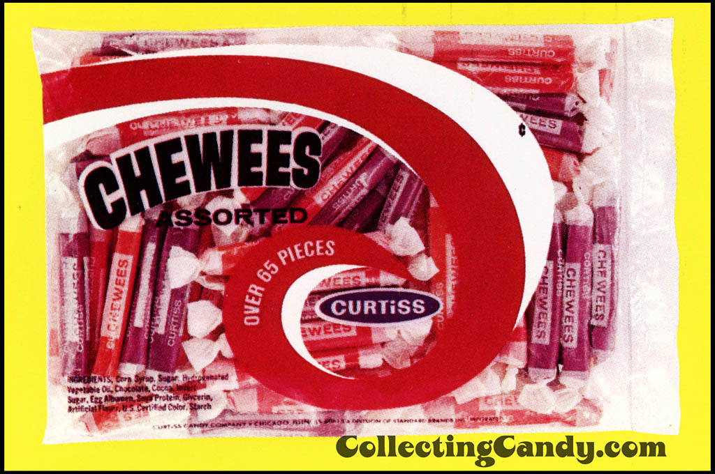Curtiss Chewees - Assorted - Halloween package photo - 1973