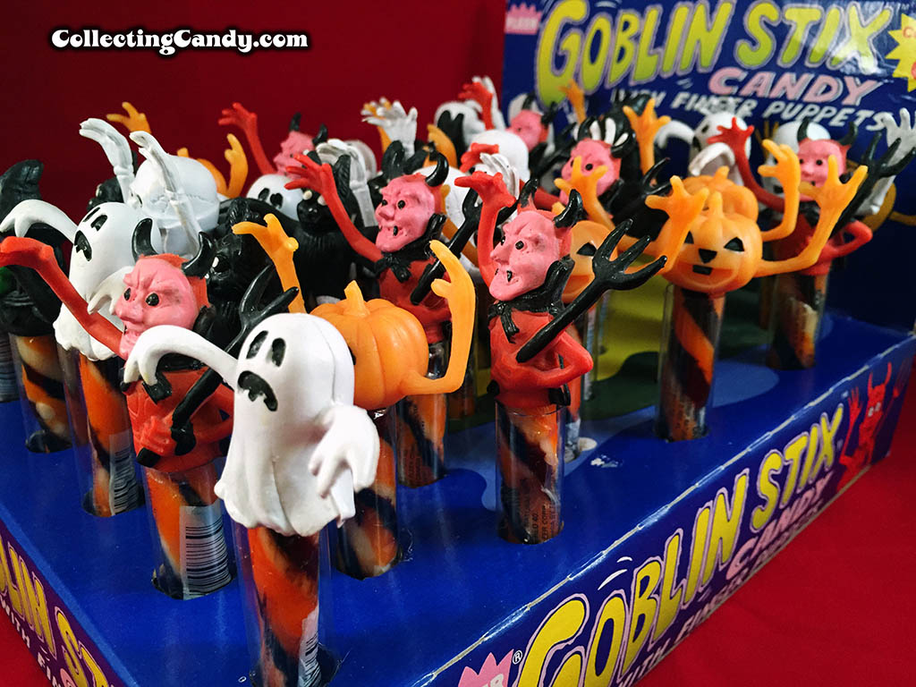 Fleer - 1980's Goblin Stix Candy display box photo